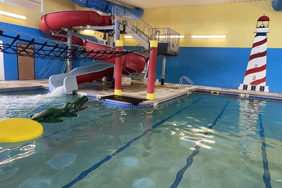 Governors' Inn waterpark scene