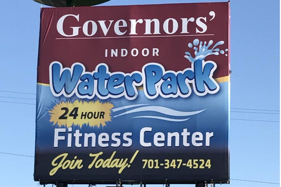 Governors' Inn waterpark board