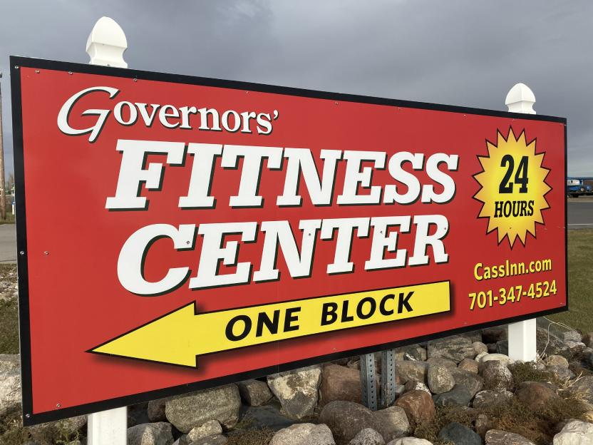 governors' Inn fitness sign