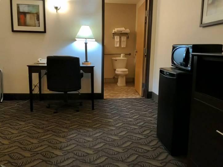 Accessible ada room in fargo