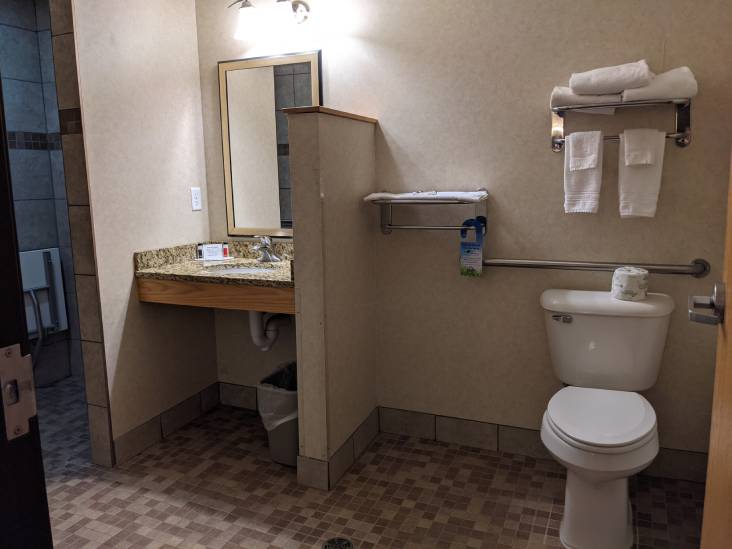 Double Bed Room Washroom
