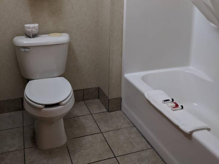 Accessible ada room washroom